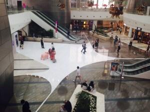 מרכז הקניות התת קרקעי COEX ריק בעקבות מחלת ה MERS