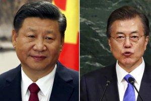 הגיעו להסכמות - נשיא סין ונשיא קוריאה