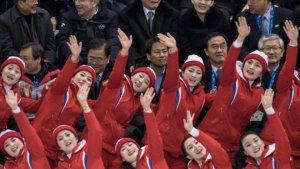 מעודדות צפון קוריאניות