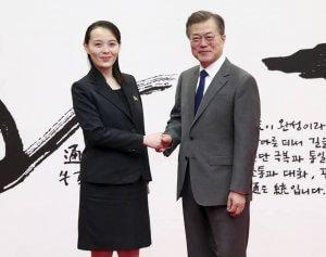הנשיא מון וקים יו-ג׳ונג - חיבור אולימפי