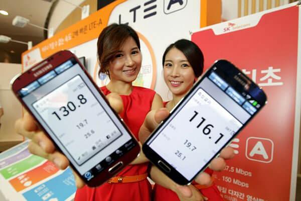 סמרטפון LTE-A - מהירות כפולה ושיווק אגרסיבי