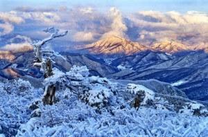 שלג בשפע - המתחם בפיונגצ׳אנג