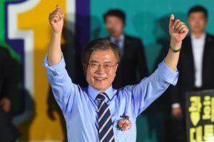 מון ג׳ה-אין - נשיא קוריאה הנבחר
