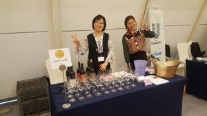דוכן יין ישראלי באירוע