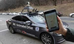 רכב אוטונומי של אוניברסיטת סיאול