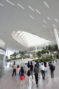 הטרמינל החדש נבנה תוך שימוש בטכנולוגיות המתקדמות ביותר