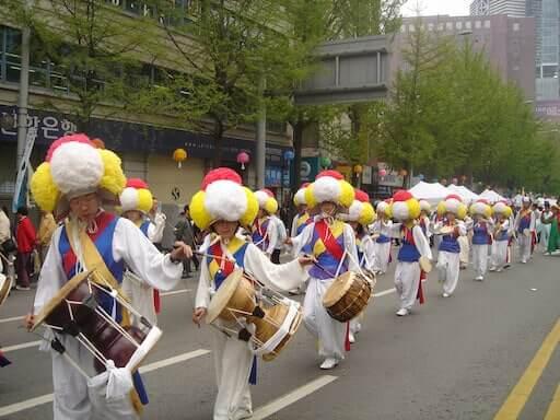 פסטיבל הלוטוס קוריאה